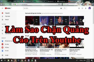 chan quang cao tren youtube